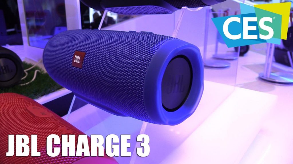 JBL Charge 3 wireless portable audio speaker