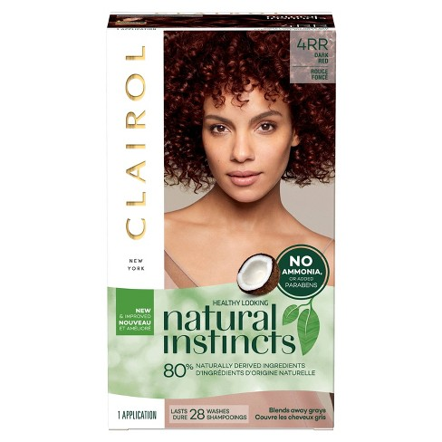 image of Clairol Natural Instincts Red Hair Color